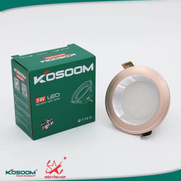 Đèn led âm trần đổi màu Kosoom