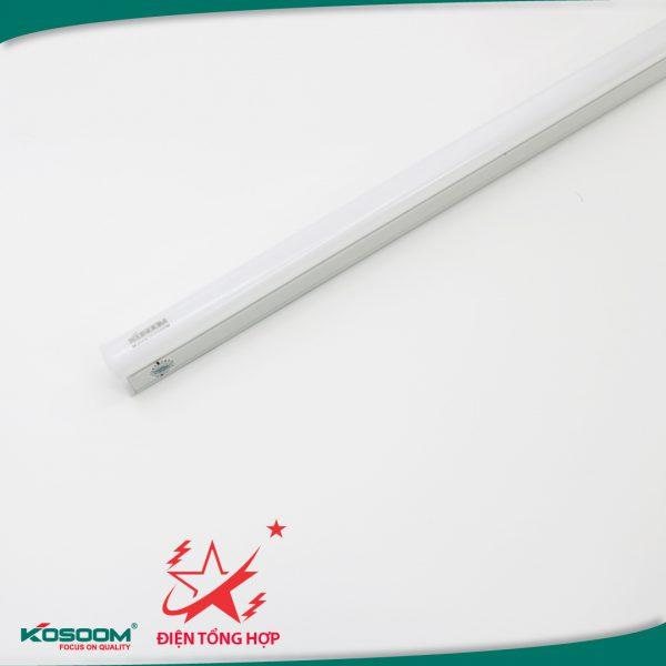 Đèn tuýp LED T5 Kosoom thân nhựa PVC 0,6m 16W